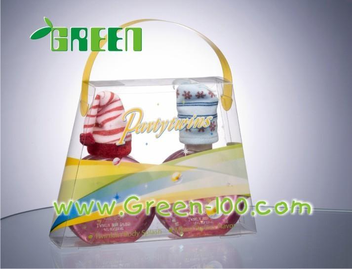 PVC透明折盒塑料盒子 4