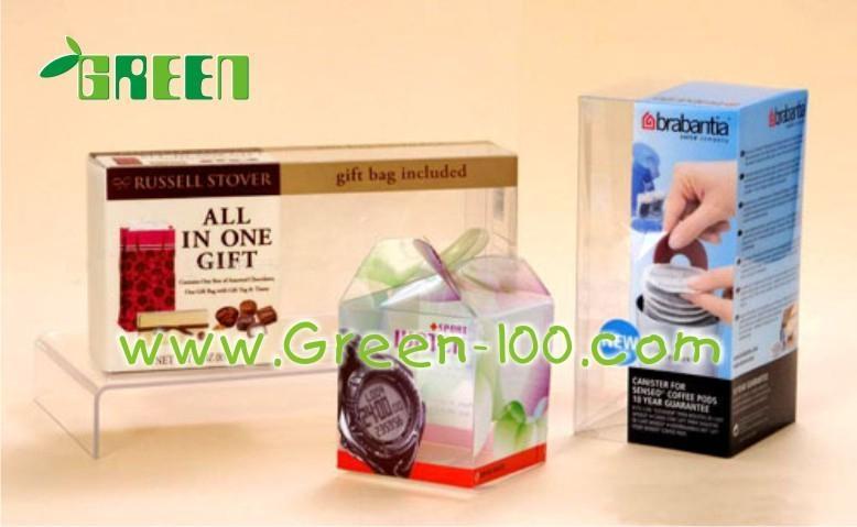 PVC透明折盒塑料盒子 5