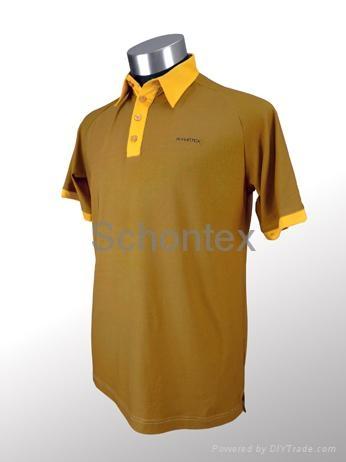 Mens bamboo golf polo schm 004 schontex hong kong for Name brand golf shirts direct