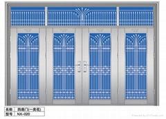Jinan factory direct high-quality low-cost stainless steel door door