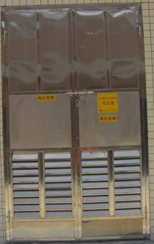 佛山吉南304不锈钢电房门 3