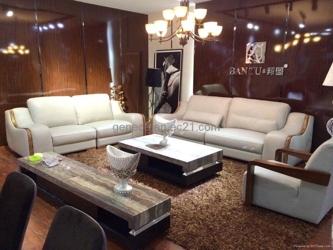 Best Quality Wooden Sofa ~ Quality wooden sofa set classic leather furniture