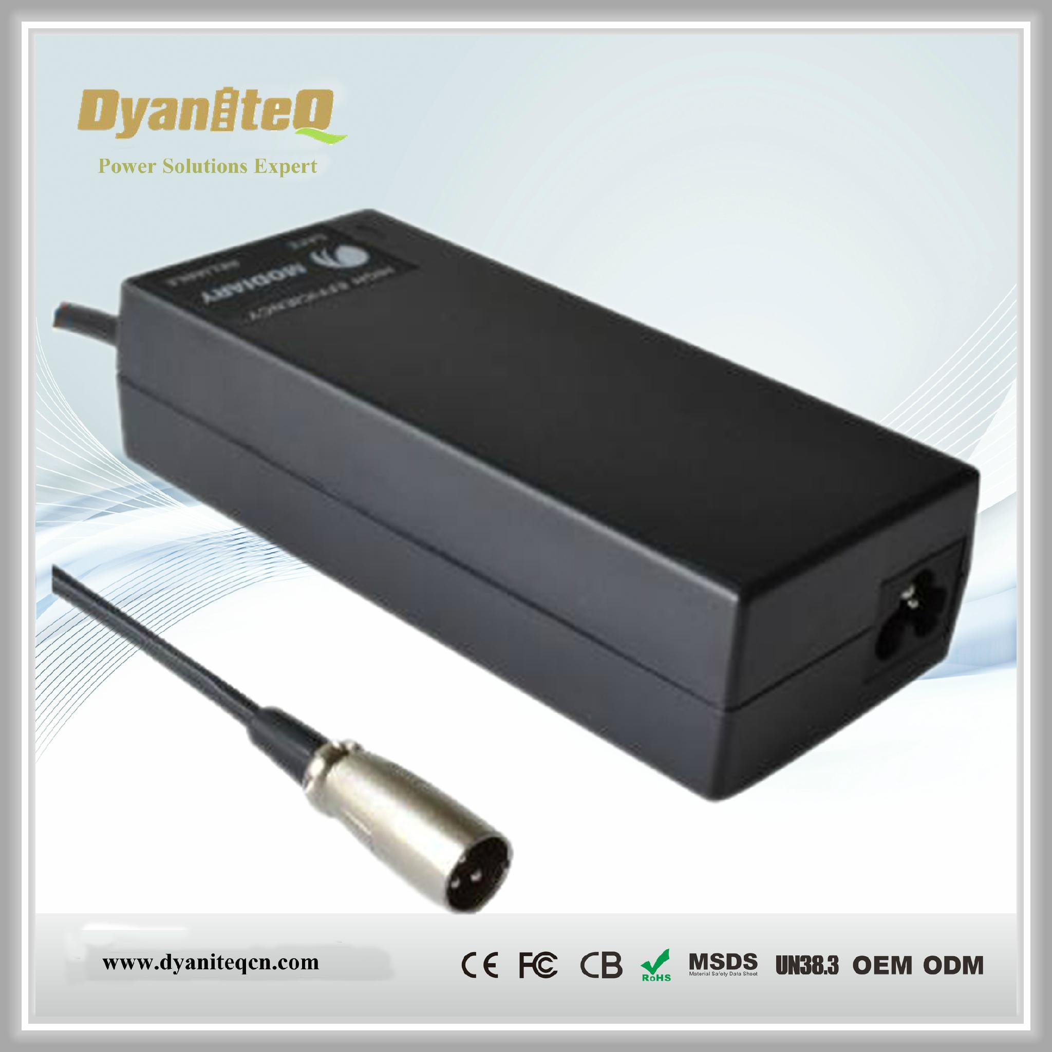 Vacuum Cleaner Charger 29.4V 2A with UL GS PSE CE approval 1
