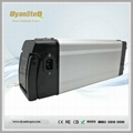 24V 36V 48V 17.5Ah Silver Fish E-bike Lithium Li ion Battery for Electric Bike