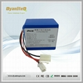 6S 21.6V Li-Ion Battery Pack Rechargeable Lithium ion Battery 21.6V 4Ah with BMS