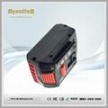 Li-ion Battery Bosch 18V 5Ah 3Ah Replacement Bosch Lithium ion Battery 18V