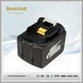 Makita 14.4V Lithium ion Battery 4500mAh for Makita BL1445 BL1430 BL1440 BL1460