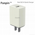 Real QC3.0 quick charger one Port USB Wall Travel  For iPhone6s Charger Adapter