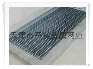 天津鋼格板格柵板溝蓋板 2