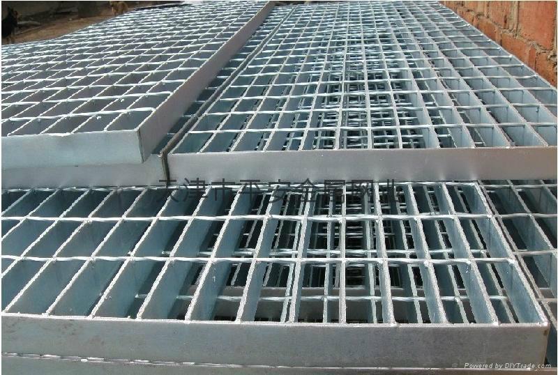 天津平台钢格板 1