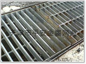 天津平台钢格板 4
