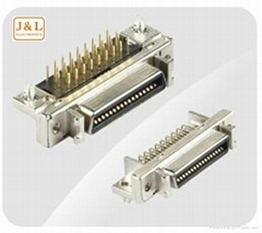 3M MDR SCSI Female Right angle 36PIN Connector
