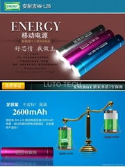 LED mobile power supply