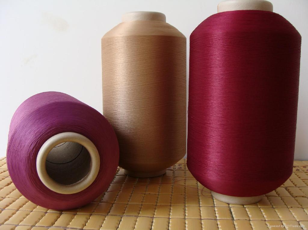 twist yarn  for making woven label  1