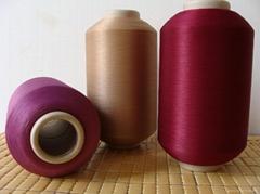twist yarn  for making woven label