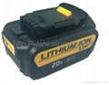 Replace 20V dewalt Power tool battery