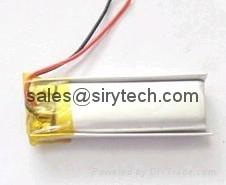 Hair Straightener or trimmer batteries 160mAh 3.7V