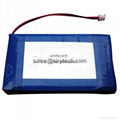 Li polymer battery 487390 3500mAh high