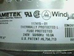 Windjammer blower117415-01 ametek