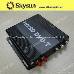 High Definition Digital TV Receive car DVB-T Support HDMI output
