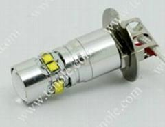 Tenole 50W-B CREE XBD H3 high power LED Bulbs white led car lights small size