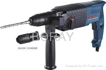 Powerful Rotary Hammer 24mm DFR in BOSCH type 1