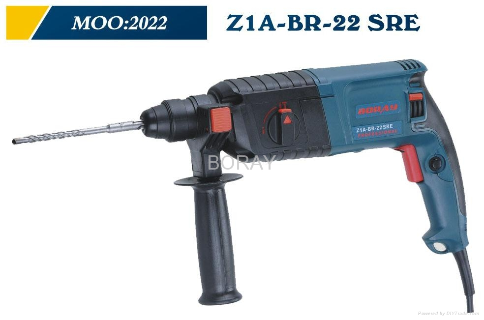 Powerful Power tools,Rotary Hammer 22mm in BOSCH Type 2