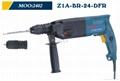 Powerful Rotary Hammer 24mm DFR in BOSCH type 2