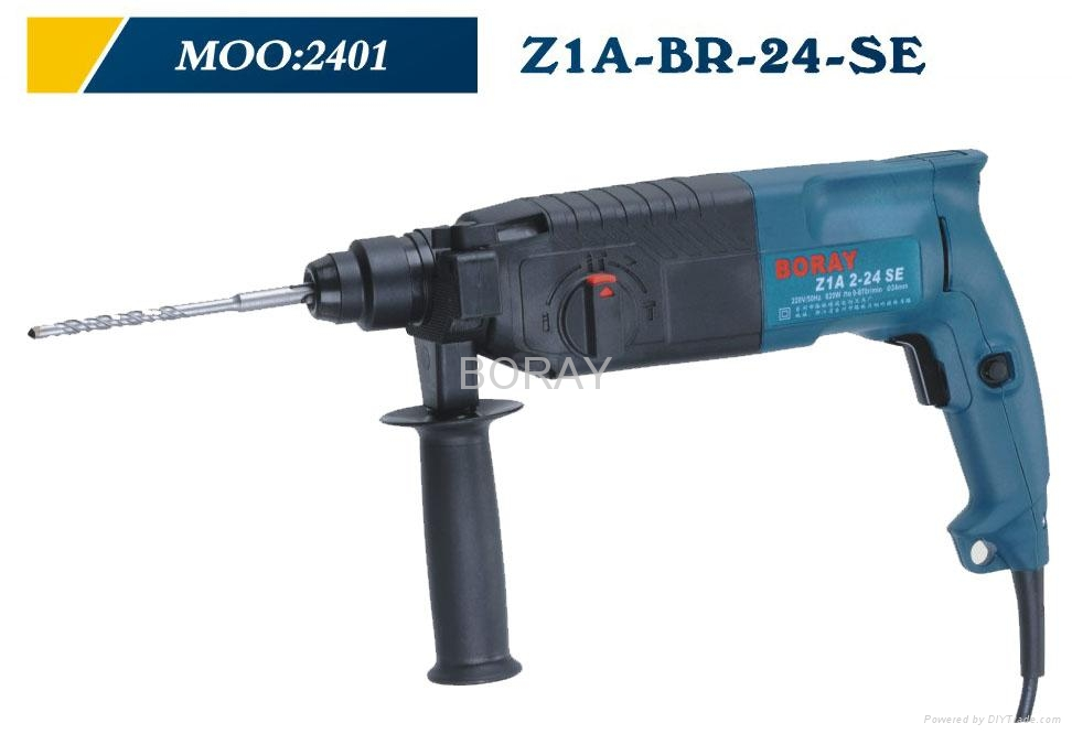 Rotary Hammer 24mm in BOSCH Powerful type 2