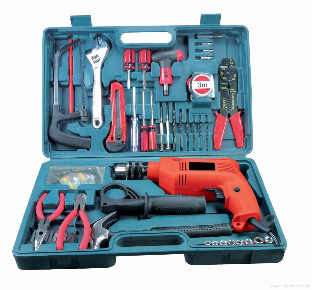 Power Tools,102pcs Impact Drill Kit (BR-BMC004)