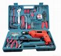 Power Tools,102pcs Impact Drill Kit