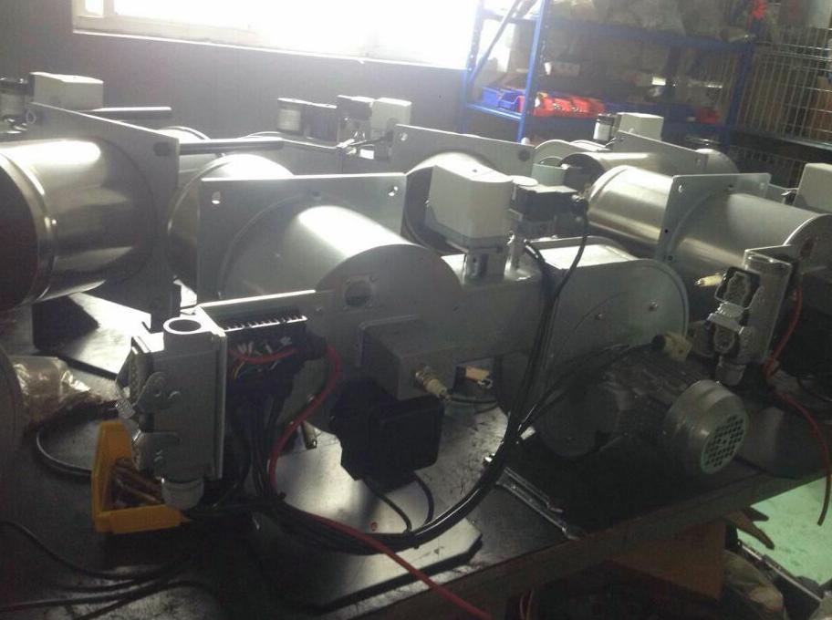 拉幅定型机直燃式燃烧器精确比调 MF300 3