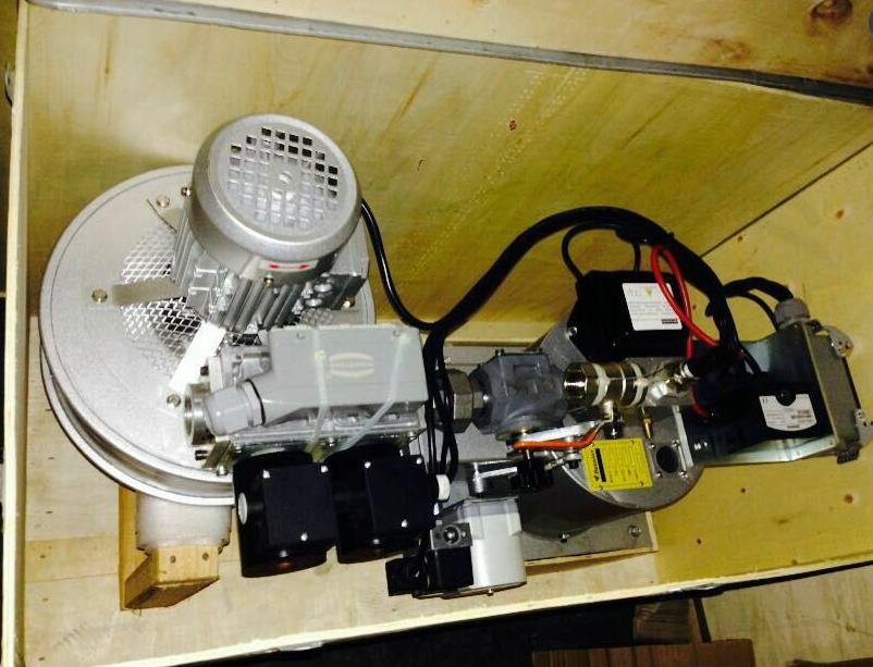 拉幅定型機直燃式燃燒器精確比調 MF300 2