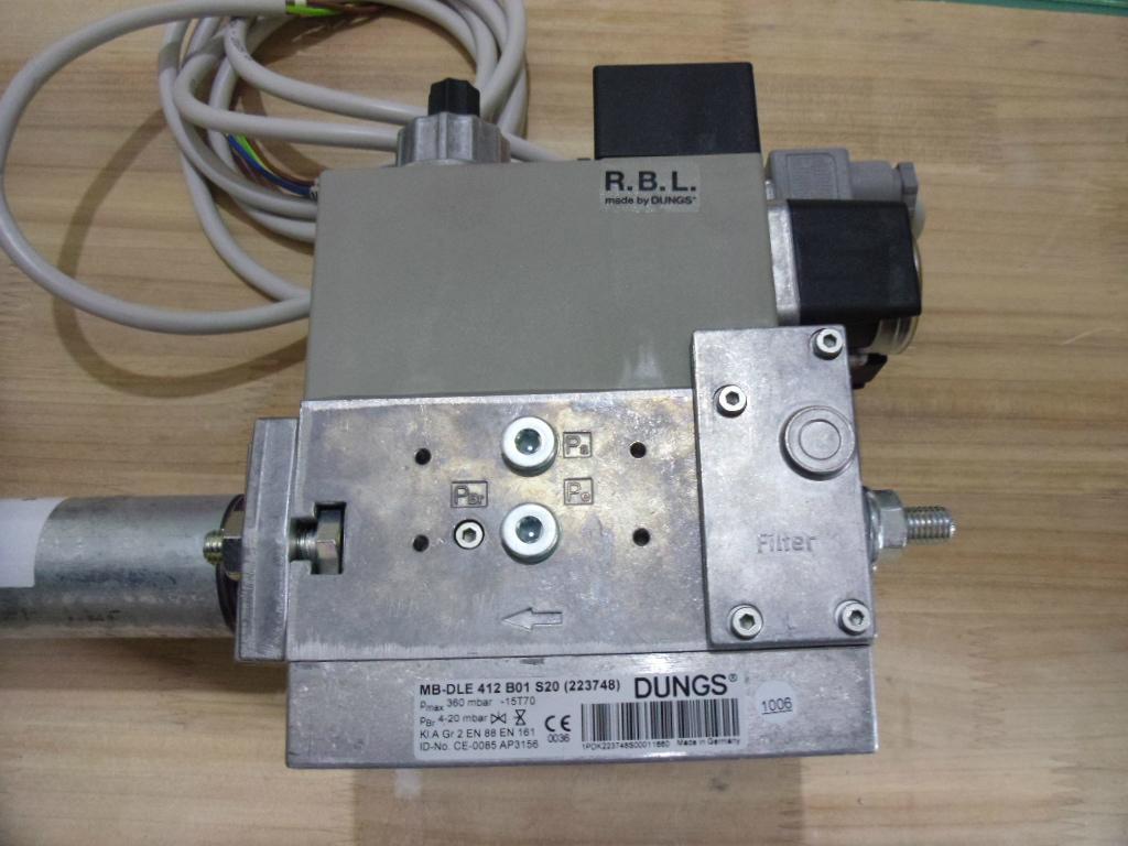 MB-D(LE)...B01系列单级燃气多功能组合调节器电磁阀组 3