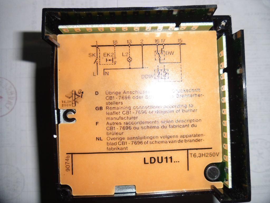 西门子燃气检漏控制器LDU11 3