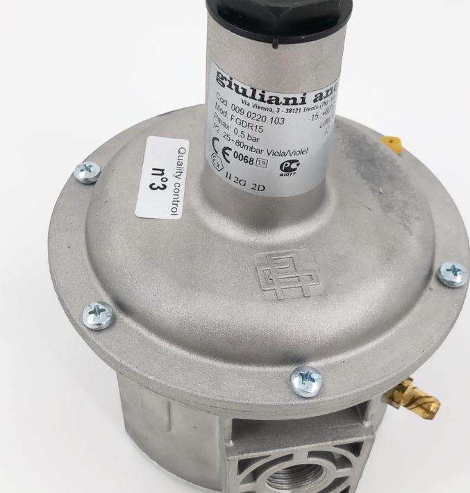 Julianni pressure regulating va  e FGDR15