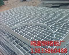 镀锌钢格板/镀锌钢格栅板/热镀锌钢格板/安平鸣銮钢格板厂