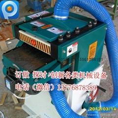 拓成TC木工双面压刨机木线条成型机重型刨木机多功能电刨