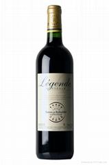 拉菲傳奇波爾多紅葡萄酒 Leg