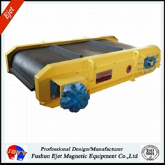永磁帶式軸裝除鐵器用於固廢分選