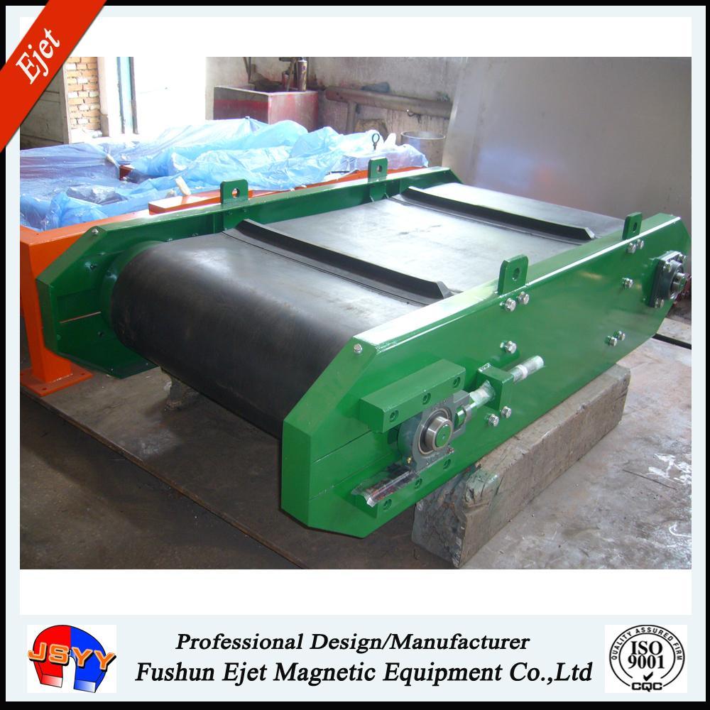 永磁帶式軸裝除鐵器用於固廢分選 2