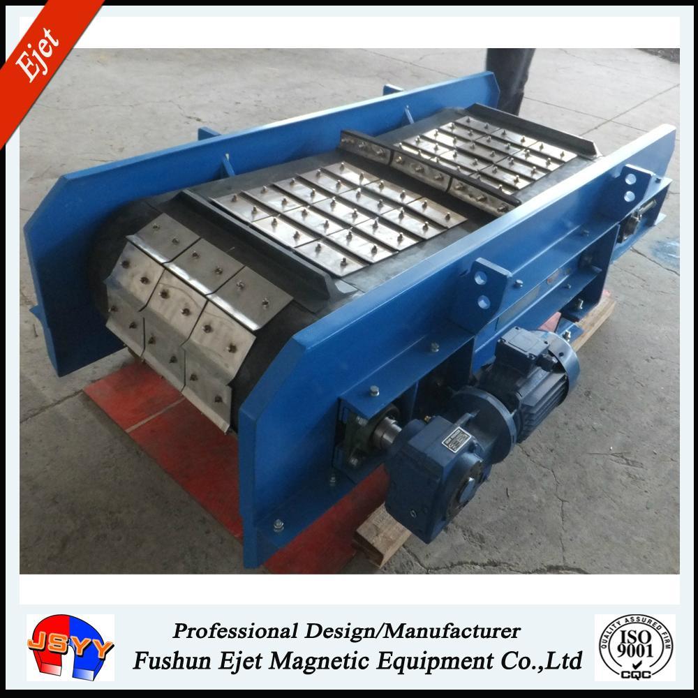 永磁带式轴装除铁器用于固废分选 4