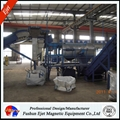Eddy current separator for aluminum plastice sorting
