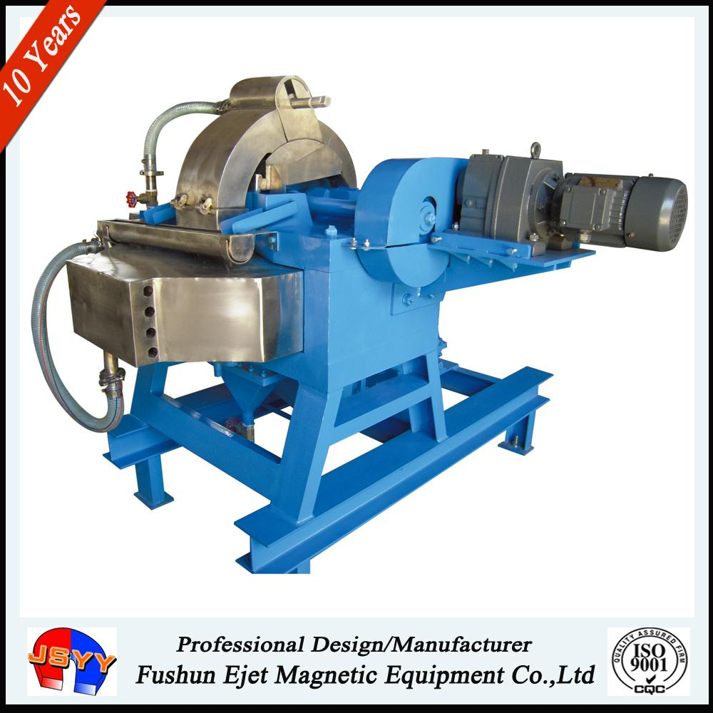 High gradient electric magnetic Separator for hematite
