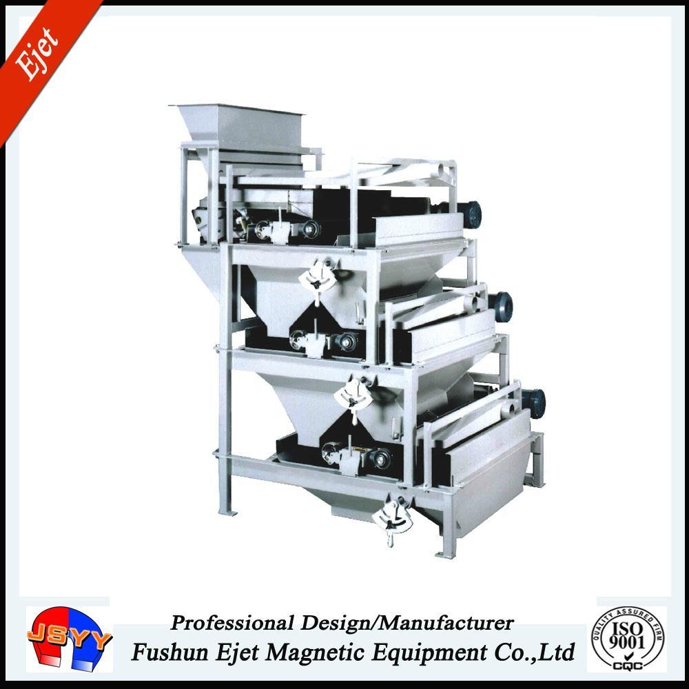 High intensity magnetic roller separator