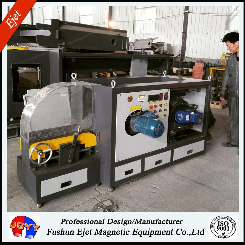 Laboratory Eddy Current Separator for nonferrous metal sorting