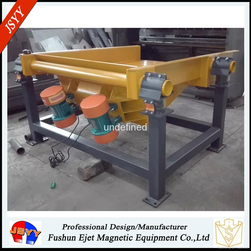 electric durable high-impact vibratory feeding machine ore feeder factory price  2