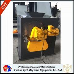 强磁干式选铁矿石滚筒磁选设备 非铁物料除铁设备