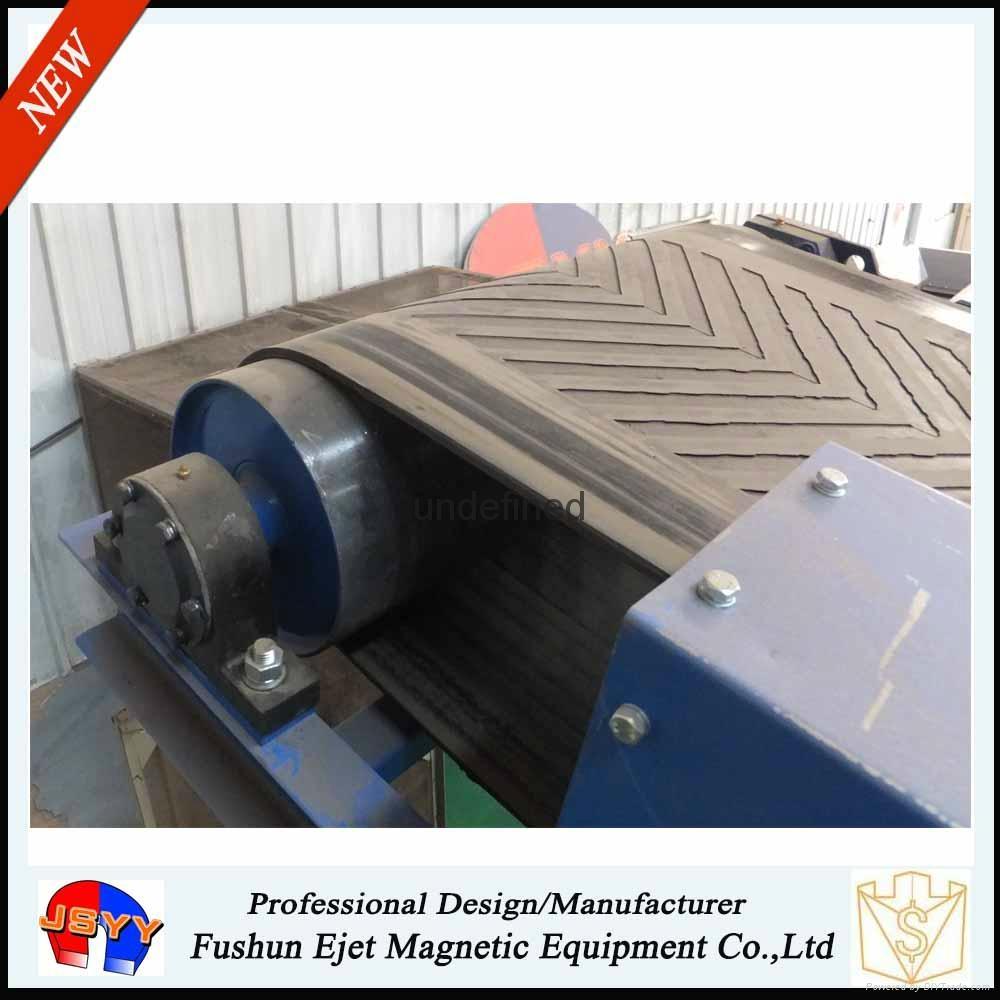 干散物料帶式輸送機頭強磁滾筒除鐵輪(輸送機頭鐵雜質恆磁提取輪) 4