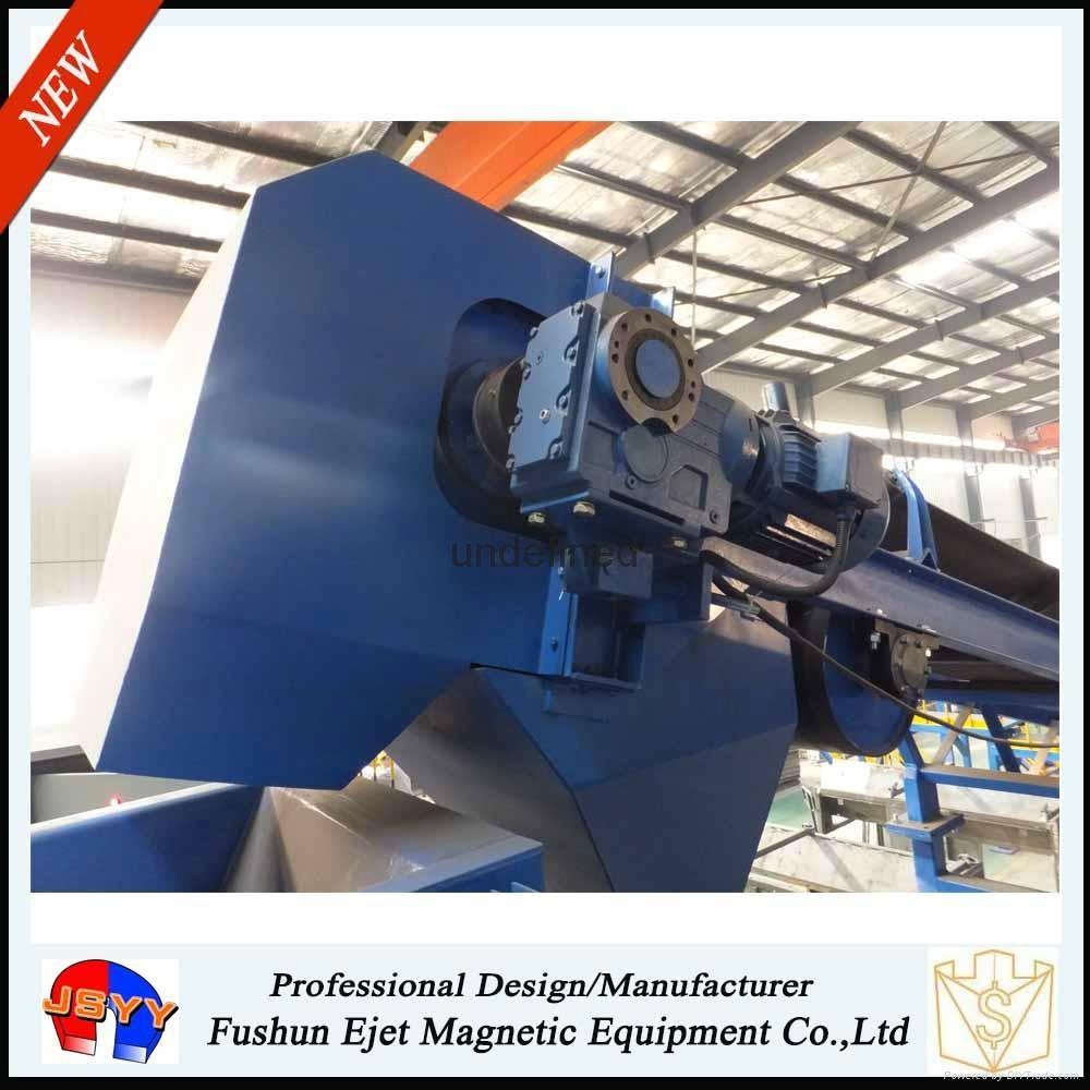 干散物料帶式輸送機頭強磁滾筒除鐵輪(輸送機頭鐵雜質恆磁提取輪) 5